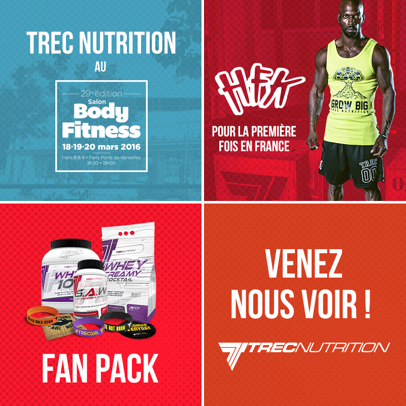 Trec Nutrition at Body Fitness 2016